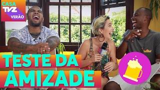 Teste da Amizade | Thiaguinho + Rodriguinho | Casa TVZ Verão