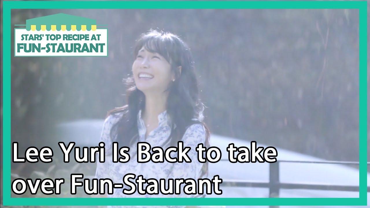 Lee Yuri Is Back to take over Fun-Staurant [Stars' Top Recipe at Fun-Staurant/ENG/2020.11.10]