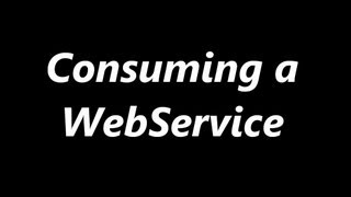 Consuming a Web Service in PHP