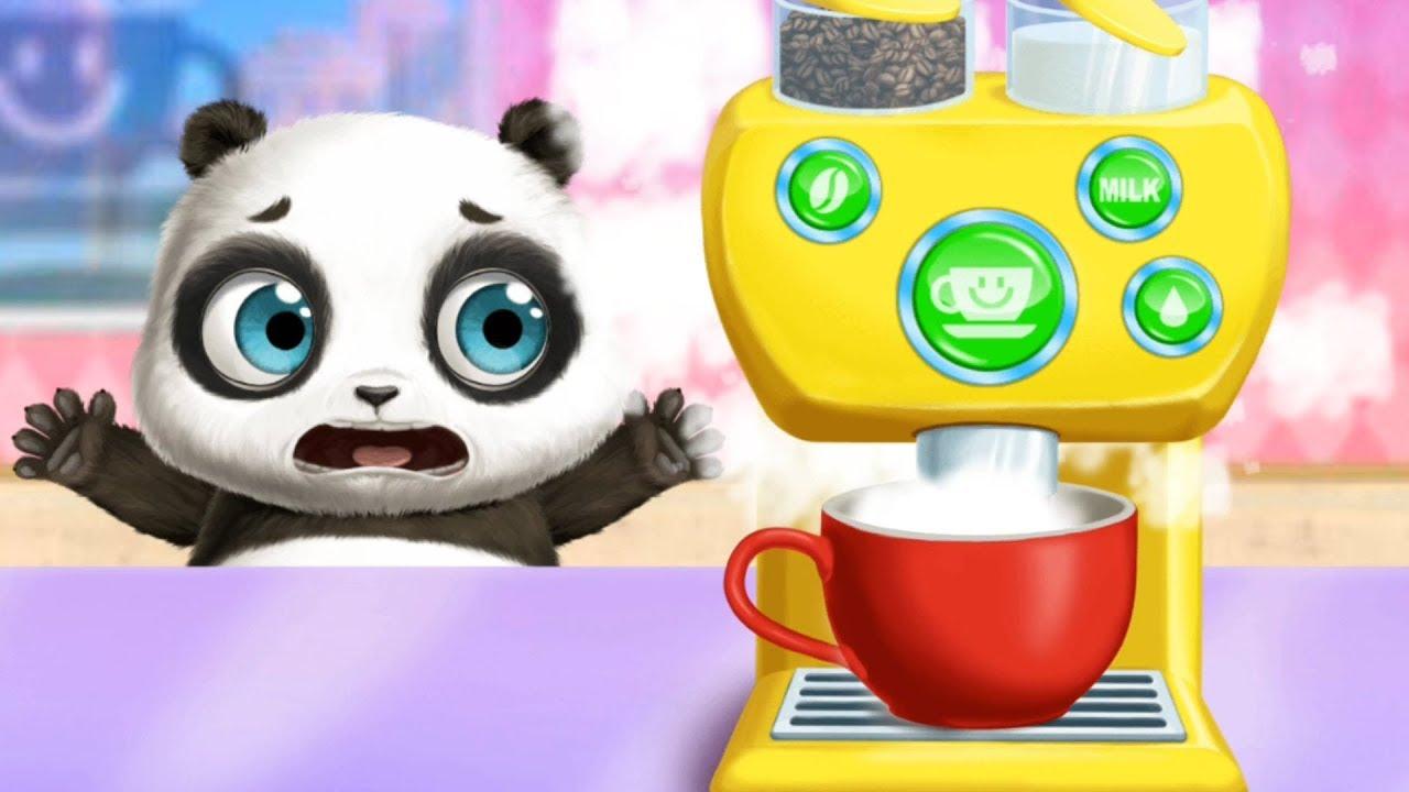 panda lu baby bear city pet babysitting care youtube