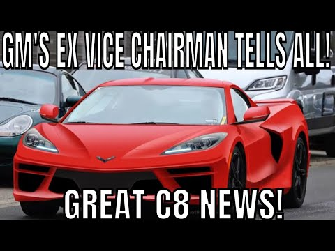 C8 Mid Engine Corvette PRICE & REVEAL Date Leaked From EX GM Chairman!