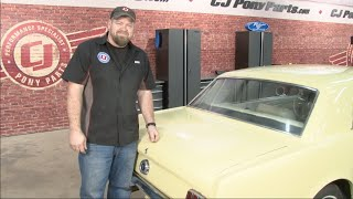 Mustang Scott Drake Trunk Weatherstrip 1965-1970 Installation