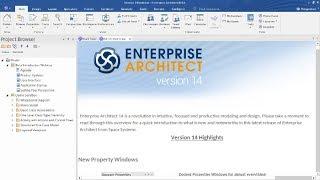 Introducing Enterprise Architect 14 Beta