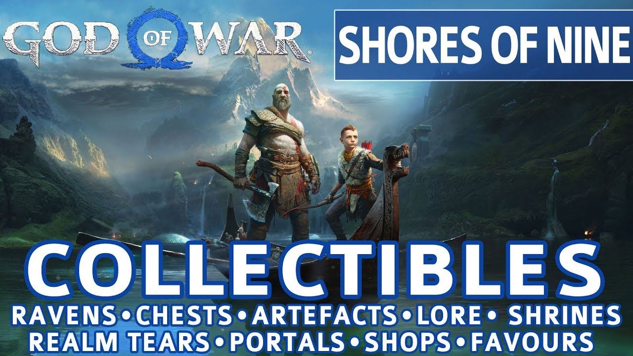 God Of War Shores Of Nine All Collectible Locations Ravens