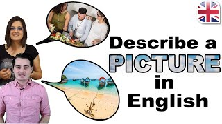 Describe a Picture in English - How to Describe an Image - Spoken English Lesson