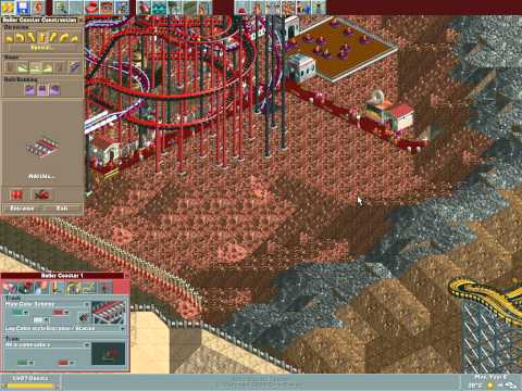 Rollercoaster Tycoon Loopy Landscapes #36 (Arid Heights: Mining the Yukon)
