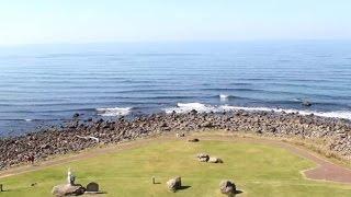 ねむの丘展望塔からの眺望・・・秋田県にかほ市