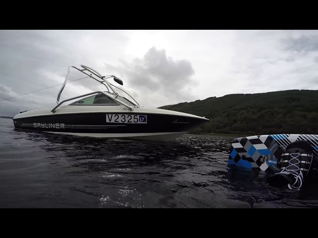 Bayliner 175 Loch Lomond Wakeboarding - August 2017