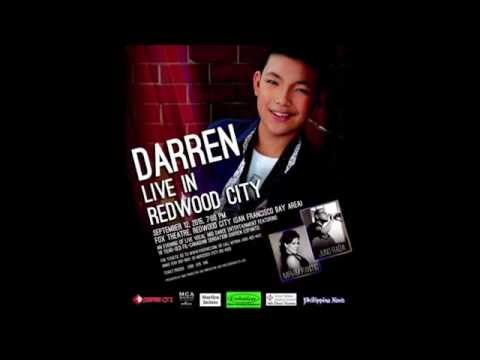 Darren Espanto Live at Fox Theatre, Redwood City ,CA (09-12-2015)