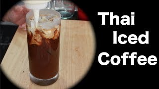 Thai Iced Coffee Recipe กาแฟเย็น - Hot Thai Kitchen