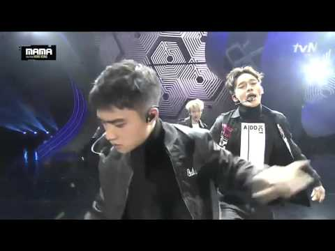151202  MAMA EXO Light of Planet Call Me Baby/Light Saber