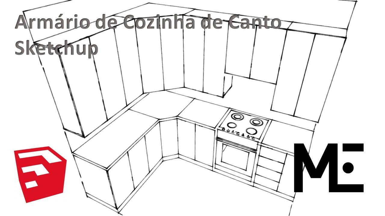Como Desenhar Cozinha Planejada Um Mtscan Abbdeafeb Cozinha