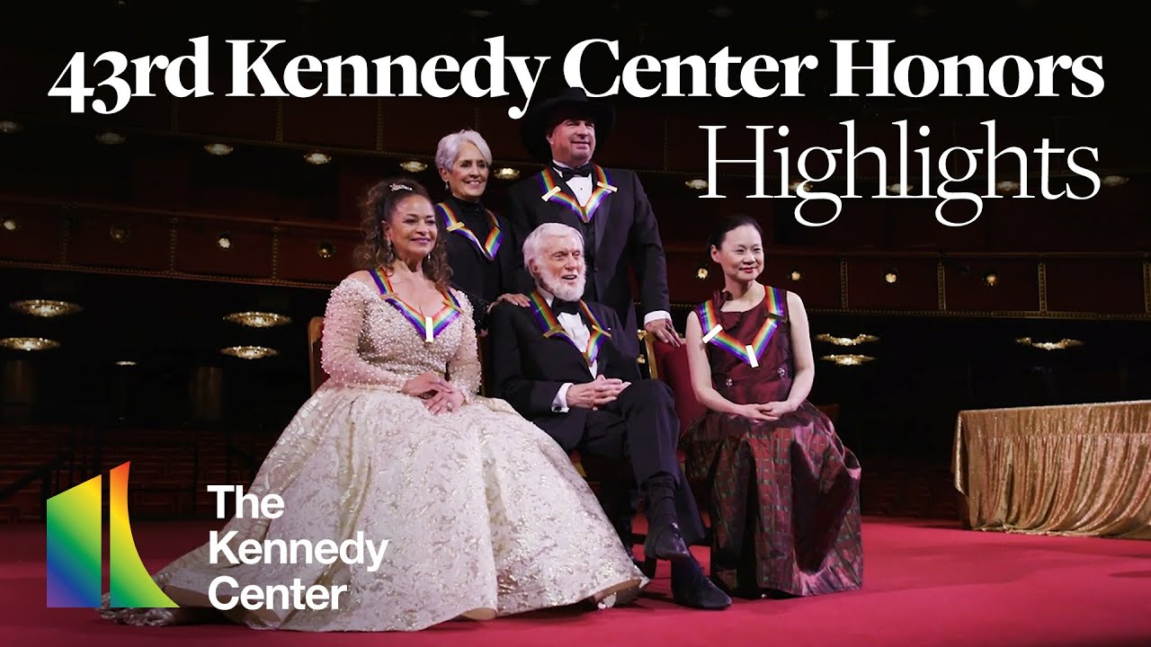 Download 43rd Kennedy Center Honors Highlights (June, 2021)