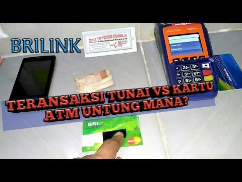 Transaksi Uang Tunai VS Kartu ATM