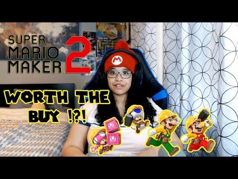 Super Mario Maker 2 - Worth The Buy!?!