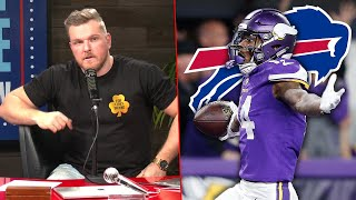 Pat McAfee's Thoughts On Stefon Diggs Being Traded To The Bills