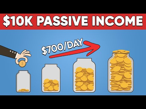 22 Passive Income Ideas - How I Earn $28K Per Month