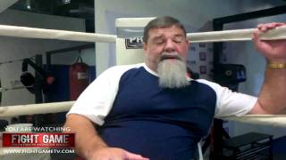 mma fans ask s tank abbott if he can knock out brock lesnar