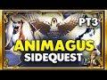 LEARNING TALBOTS SECRET!!!🐱🦅🐶 - ANIMAGUS SIDE QUEST - HARRY POTTER: HOGWARTS MYSTERY