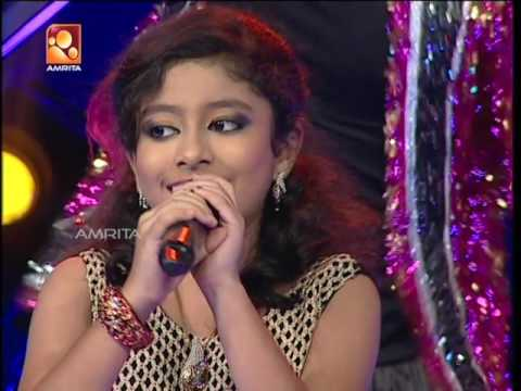 Super Star Junior 5 | Henniza Fathima Singing 'Manohari…' Song (Bahubali Movie)