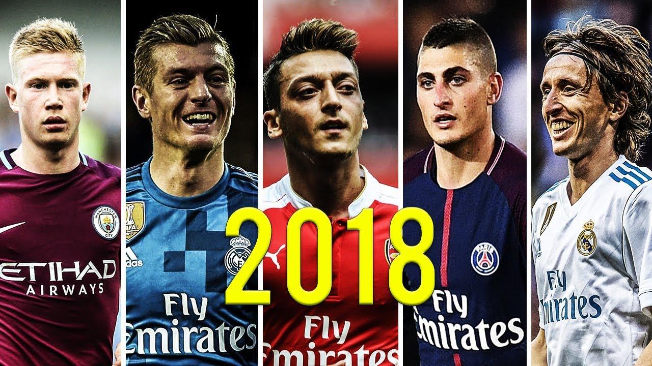 Download World Best Midfielders Mix 2018 ● De Bruyne ● Kross ● Özil ● Verratti ● Modrić   (HD)