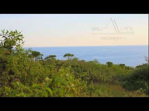 Bali land for sale Bukit cliff front 3.5 hectare