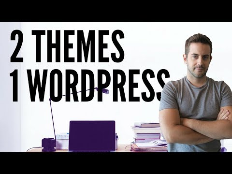 WordPress themes many pages