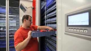 видео: Автоматизированное хранение инструмента - автоматические карусельные склады