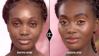 Easy, Fresh, Golden Makeup Look For Summer | Charlotte Tilbury