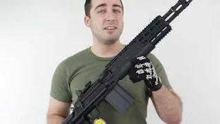G&G HBA Short M14 EBR - Airsoft Gun Review