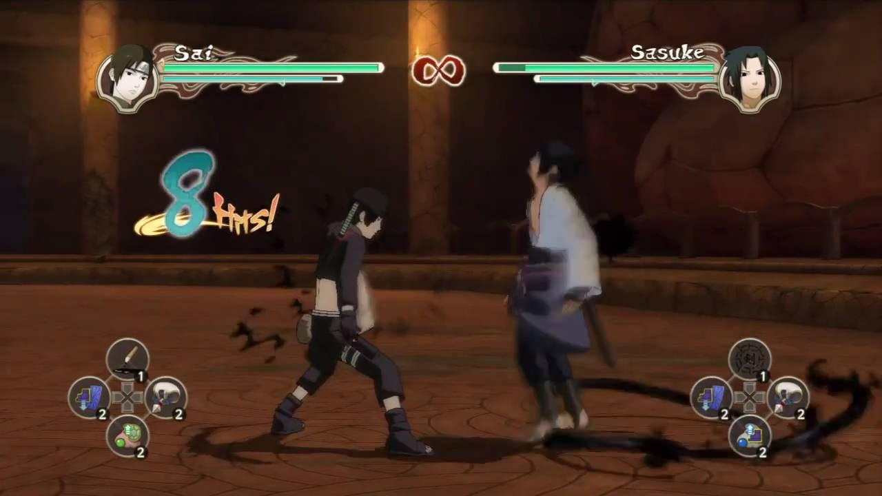 Naruto Shippuden: Ultimate Ninja Storm 2 - Advanced Combos