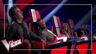 Paulina Rubio se alía con Luis Fonsi y Antonio Orozco intercambia su sillón con él en 'La Voz' Video