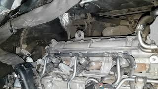 Белый дым после прогрева дизельного двигателя мерседес.