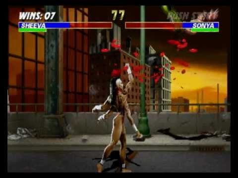 Mortal Kombat 3 - Sheeva playthrough