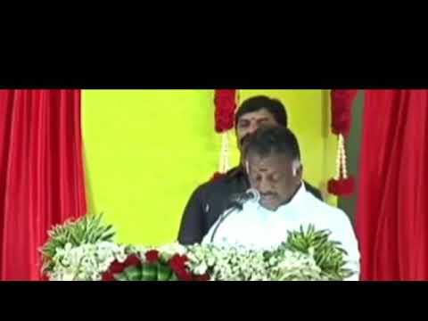 வன்னியர் வரலாறு பற்றி ops பேச்சு ops speech about vanniyar history