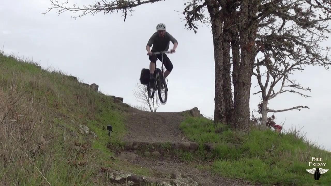 The Bike Friday Diamond Llama Folding Adventure Bike Youtube