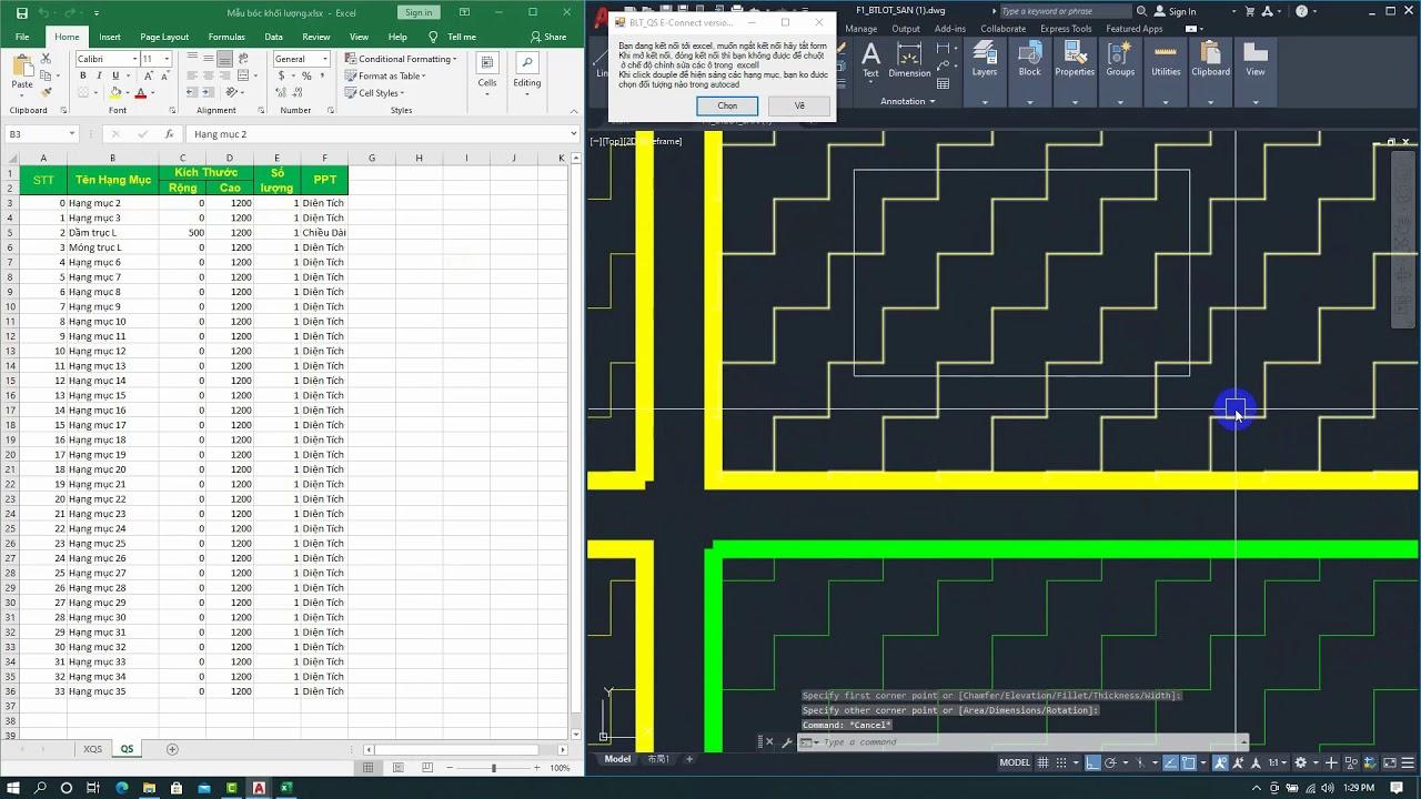 PHẦN MỀM QS: Hướng dẫn cập nhật phiên bản BLT_QS E-Connect phiên bản 1.0