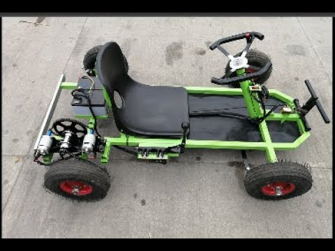 electric go kart 775 made at home and reverse