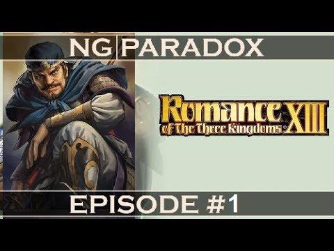 Romance of the Three Kingdoms 13 LiveStream #1