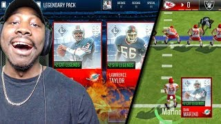 INSANE PACK OPENING WEEK 14 MATCHUP NFL EDITION! Madden Mobile 18 Gameplay