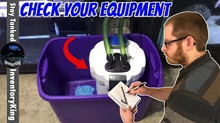 FREQUENTLY CHECK YOUR AQUARIUM EQUIPMENT | THEY CAN FAIL AND CAUSE A MAJOR DISASTER