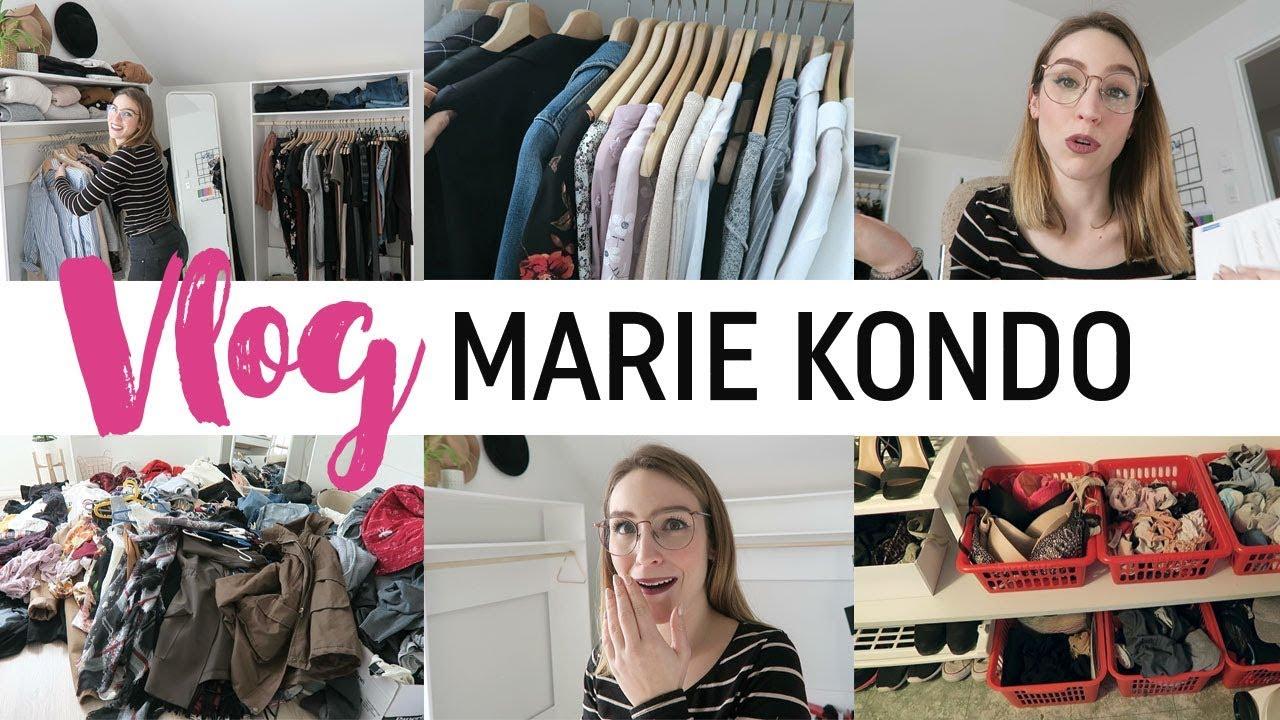 JE TESTE LE RANGEMENT MARIE KONDO !! - YouTube