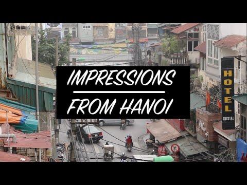 IMPRESSIONS FROM HANOI | VIETNAM | TRAVEL VLOG #12