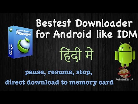 #DA11 Best Internet Download Manager For Android