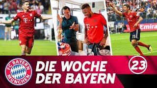 Die Woche der Bayern: Supercup-Triumph, Tolissos Rückkehr & 4:1 beim HSV | Ausgabe 23