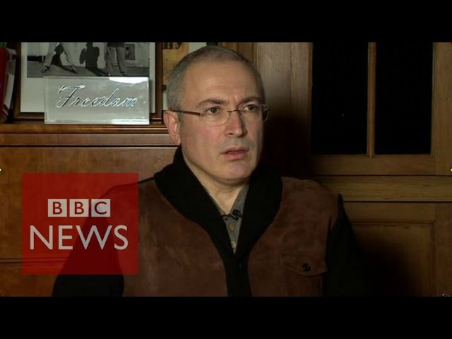 Khodorkovsky: 'There will be regime change in Russia' - BBC News