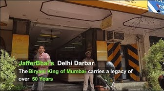 JafferBhai's Delhi Darbar 'The Biryani King of Mumbai'