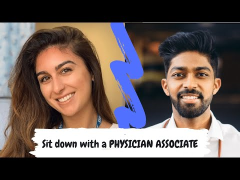 Everything about becoming a PHYSICIAN ASSOCIATE - sit down with Nealy