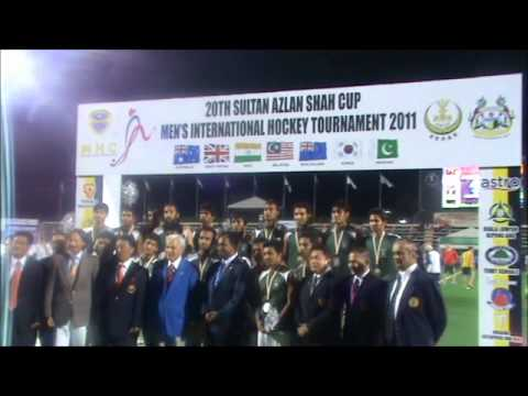 Azlan Shah Cup 2011 silvermedallist Pakistan