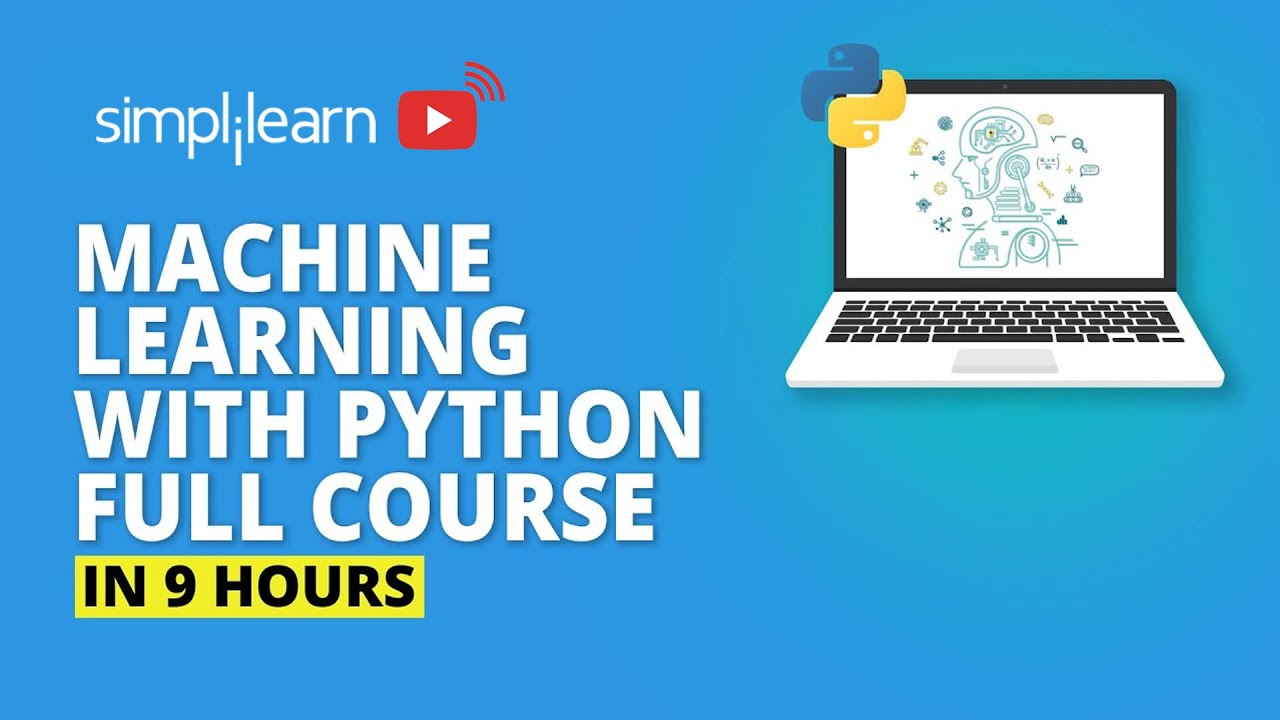 Machine Learning With Python Full Course   Machine Learning Course